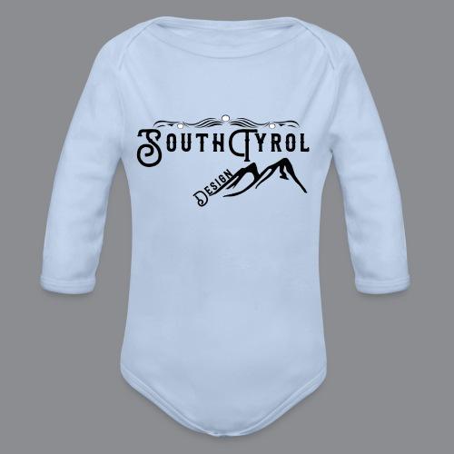 SouthTyrol Design - Baby Bio-Langarm-Body