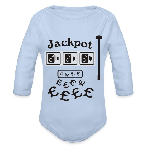 Speed Camera Jackpot - Organic Longsleeve Baby Bodysuit