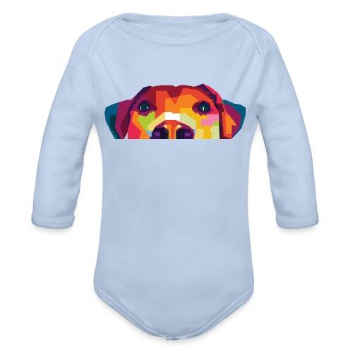 Hunde WPAP Design - Baby Bio-Langarm-Body
