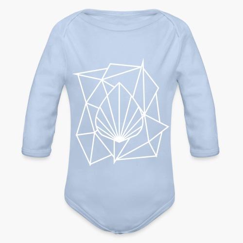 Polygon Augmented Logo - Organic Longsleeve Baby Bodysuit