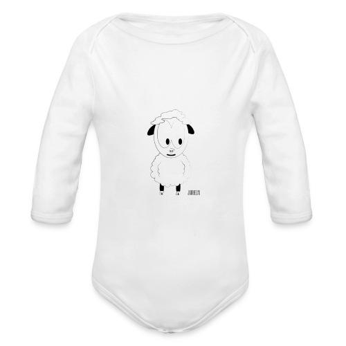 wolle shirt url png - Baby bio-rompertje met lange mouwen