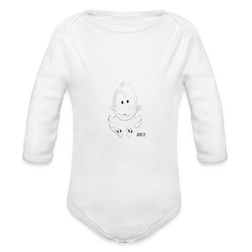wakke shirt url png - Baby bio-rompertje met lange mouwen
