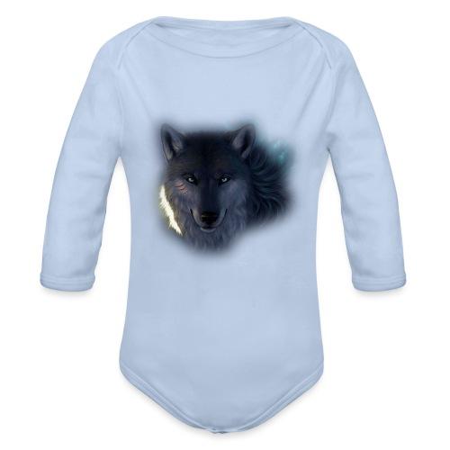 Wolf - Organic Longsleeve Baby Bodysuit