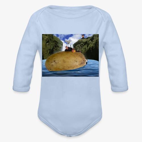 Test - Organic Longsleeve Baby Bodysuit