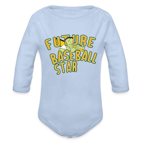 Future Baseball Star - Baby Bio-Langarm-Body