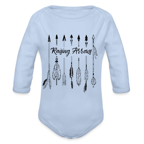 Raising Arrows - Baby Bio-Langarm-Body