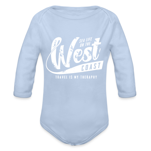West Coast Sea surf clothes and gifts GP1306A - Vauvan pitkähihainen luomu-body