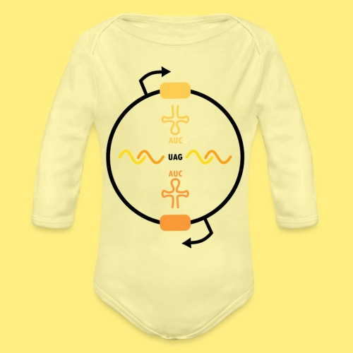 Biocontainment tRNA - shirt men - Baby bio-rompertje met lange mouwen