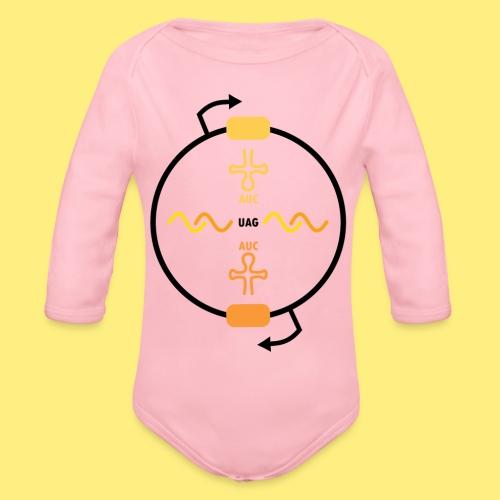 Biocontainment tRNA - shirt men - Baby bio-rompertje met lange mouwen