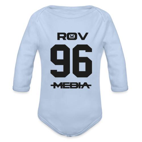 ROV Media - Baby bio-rompertje met lange mouwen