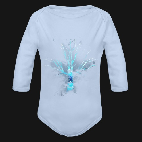 cham design 04 - Organic Longsleeve Baby Bodysuit