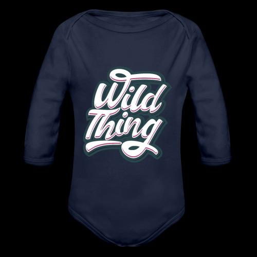 Wild Thing - Baby Bio-Langarm-Body