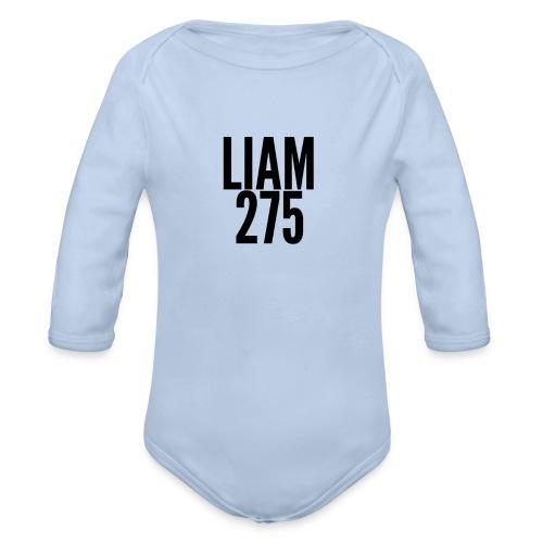 LIAM 275 - Organic Longsleeve Baby Bodysuit