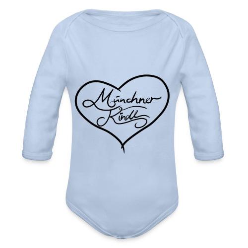 Münchner Kindl - Baby Bio-Langarm-Body