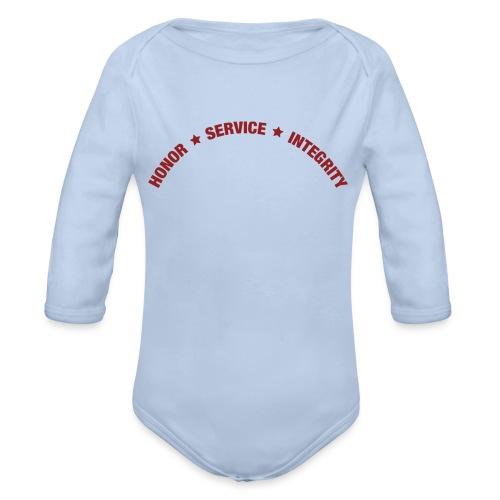 HSI - Økologisk langermet baby-body