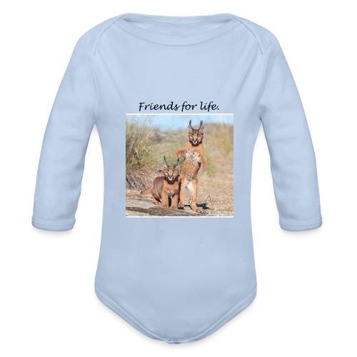 Amigos para la vida - Body orgánico de manga larga para bebé
