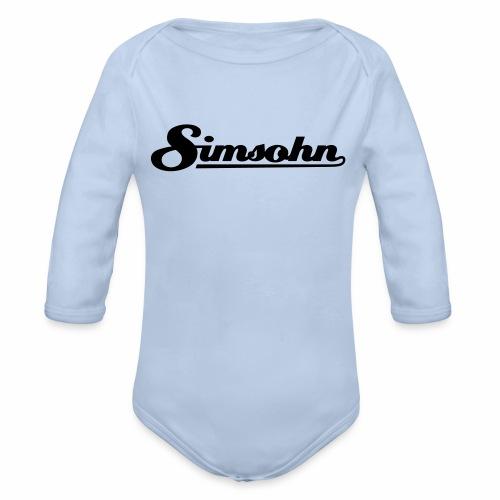 Simsohn Logo - Organic Longsleeve Baby Bodysuit