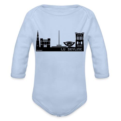 Lu skyline de Terni - Body ecologico per neonato a manica lunga