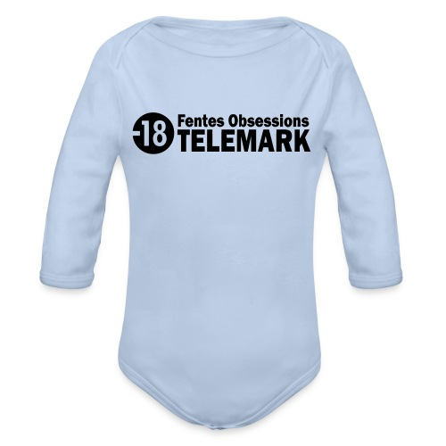 telemark fentes obsessions18 - Body Bébé bio manches longues
