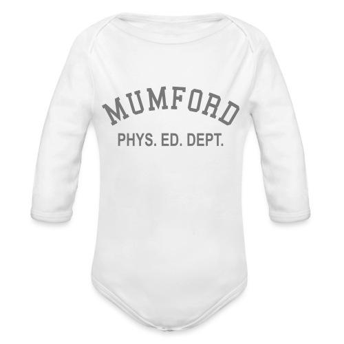 mumford phys ed - Organic Longsleeve Baby Bodysuit