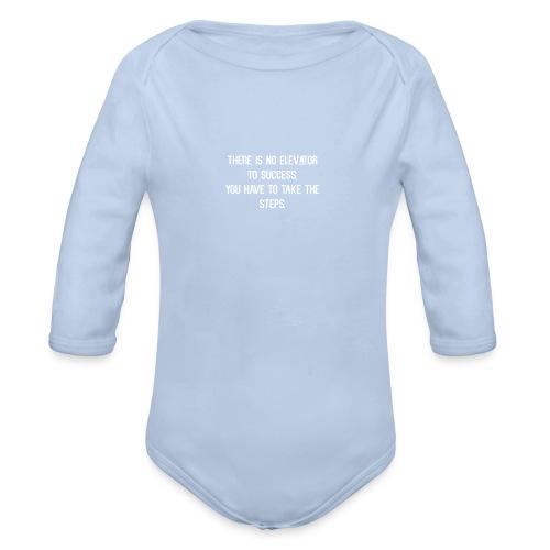 Quote - Organic Longsleeve Baby Bodysuit