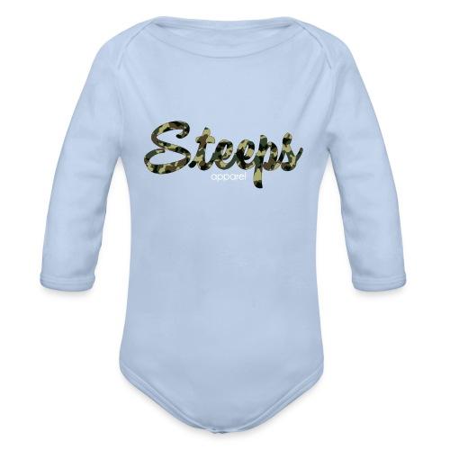 Woodland - Organic Longsleeve Baby Bodysuit