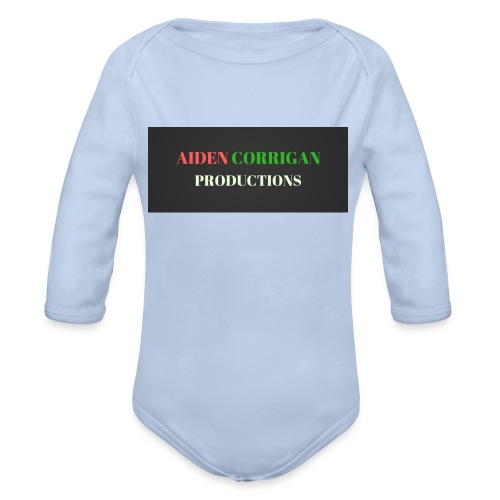 AIDEN_CORRIGAN_PRODUCTIONS - Organic Longsleeve Baby Bodysuit