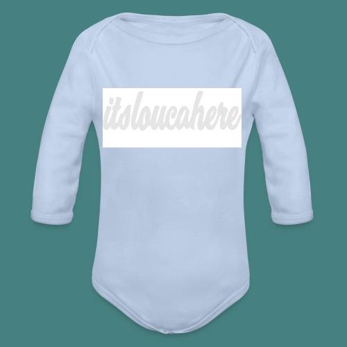 Untitled-2 - Organic Longsleeve Baby Bodysuit