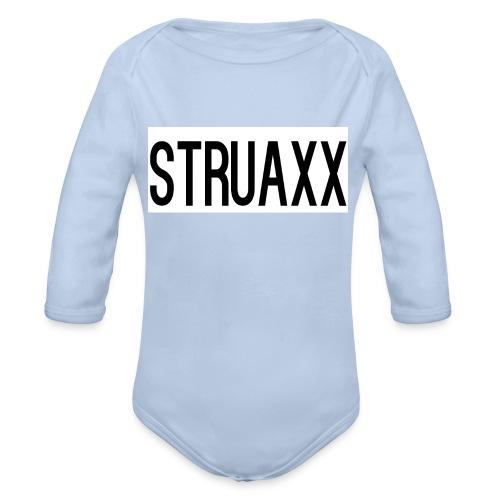 struax - Baby bio-rompertje met lange mouwen