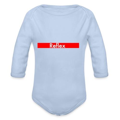 Reflex Logo street - Organic Longsleeve Baby Bodysuit