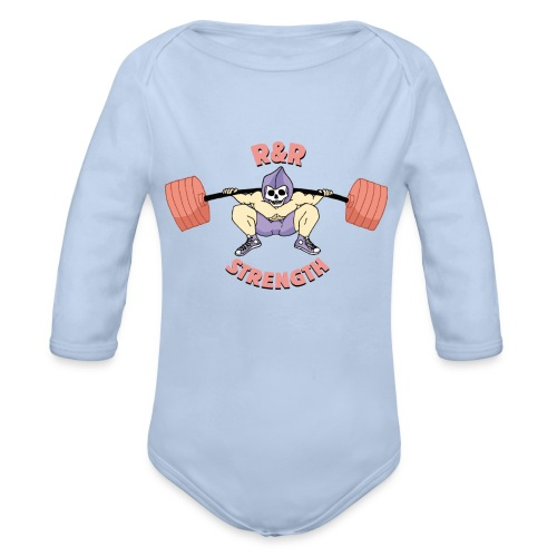 RR Strength - Body bébé bio manches longues