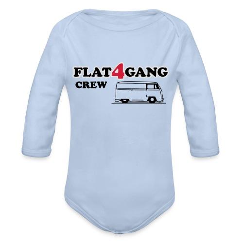 f4g crew - Baby bio-rompertje met lange mouwen