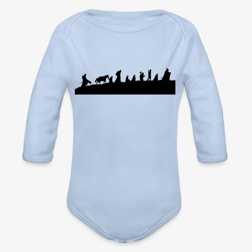 The Fellowship of the Ring - Organic Longsleeve Baby Bodysuit