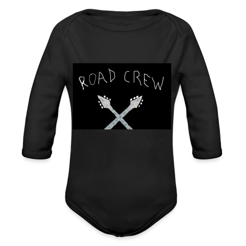 Road_Crew_Guitars_Crossed - Organic Longsleeve Baby Bodysuit