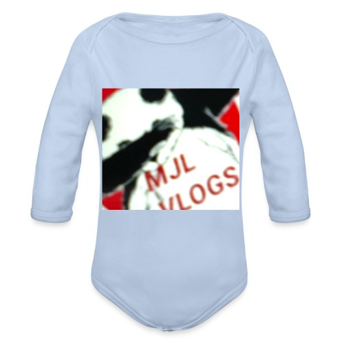 DABING PANDA - Organic Longsleeve Baby Bodysuit