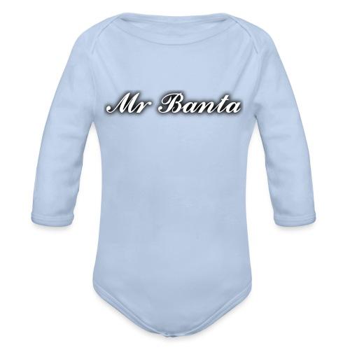 italic banta - Organic Longsleeve Baby Bodysuit