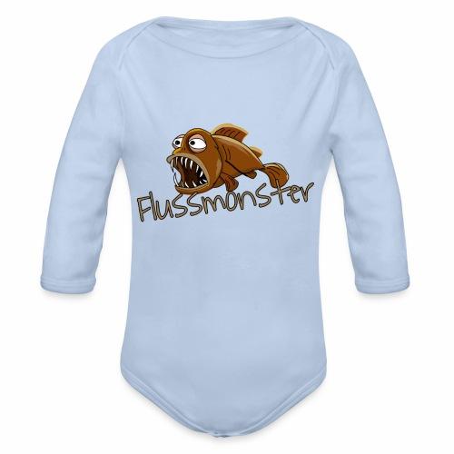 Flussmonster - Baby Bio-Langarm-Body