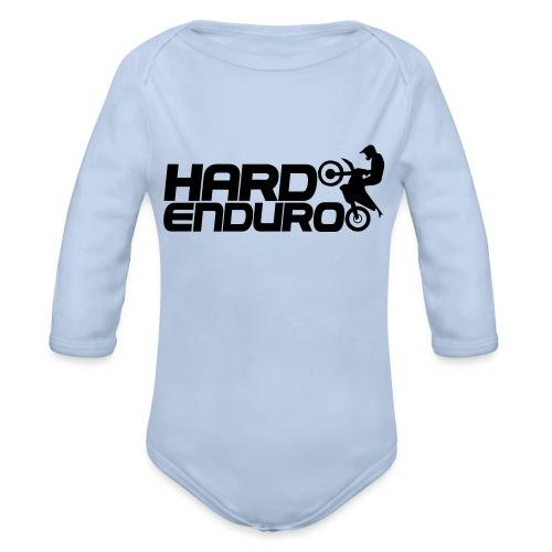 Hard Enduro Biker - Baby Bio-Langarm-Body