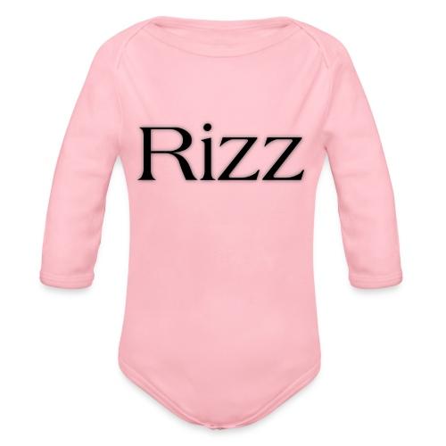 cooltext193349288311684 - Organic Longsleeve Baby Bodysuit