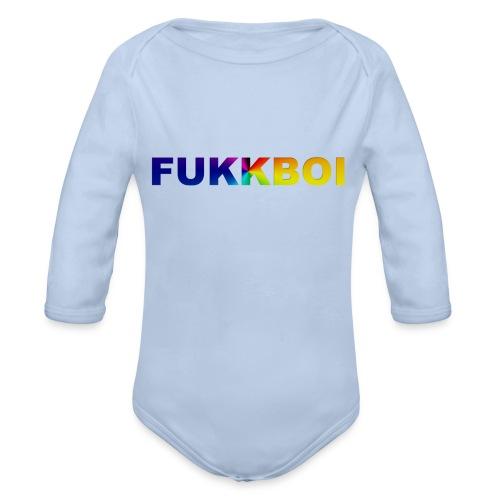 FUKKBOI - Økologisk langermet baby-body