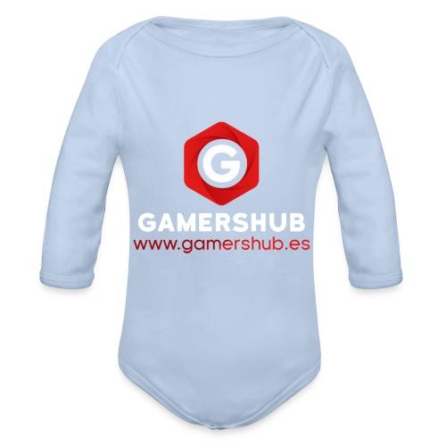 GamersHUB Oficial Promocional - Body orgánico de manga larga para bebé