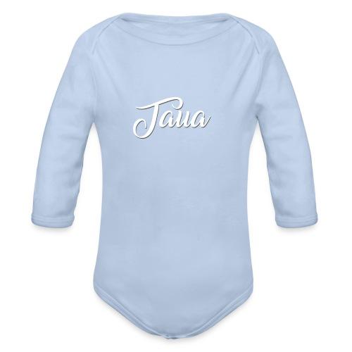 TAUA basic T-shirt - Baby Bio-Langarm-Body