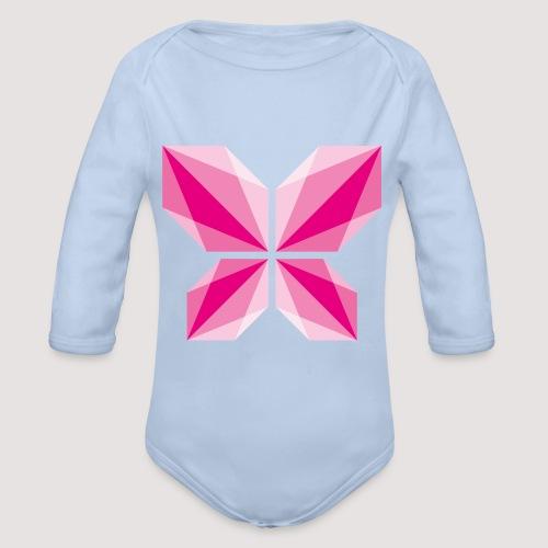 DDD Butterfly - Baby Bio-Langarm-Body