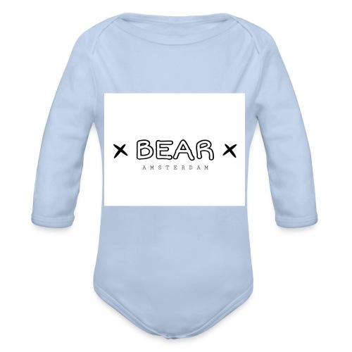 merk BEAR - Baby bio-rompertje met lange mouwen