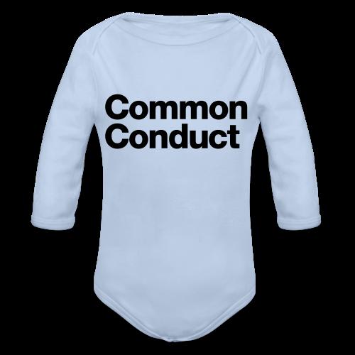 Common Sports - Organic Longsleeve Baby Bodysuit