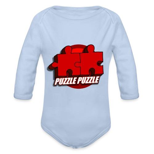 PuzzlePuzzle - Body ecologico per neonato a manica lunga