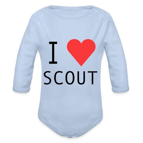 I love scout - Body bébé bio manches longues