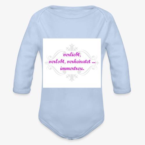 immertreu - Baby Bio-Langarm-Body