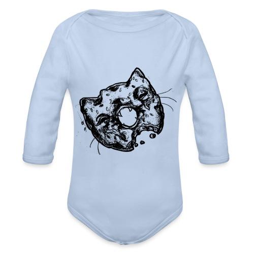 Dona Gato Negro - Body orgánico de manga larga para bebé