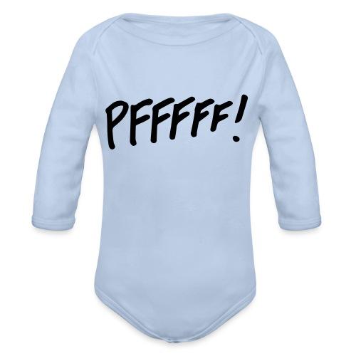 pffff! - Baby bio-rompertje met lange mouwen